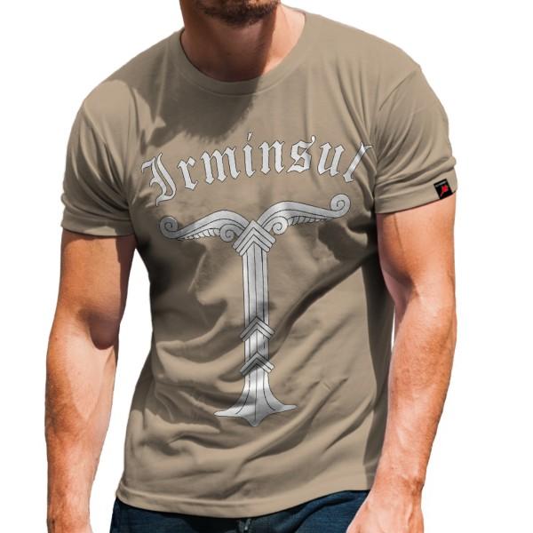 Irminsul Lebensbaum Heiligtum der Sachsen Germanen Wikinger - T Shirt #125