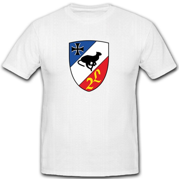 FlaRehrRgt 6 Air Defense Lehr Regiment Bundeswehr Bund Bw Wappen- T Shirt # 11323