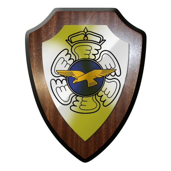 Wappenschild finnisches Heer Finnland Luftwaffe Streitkräfte Kampfflugzeug #9327