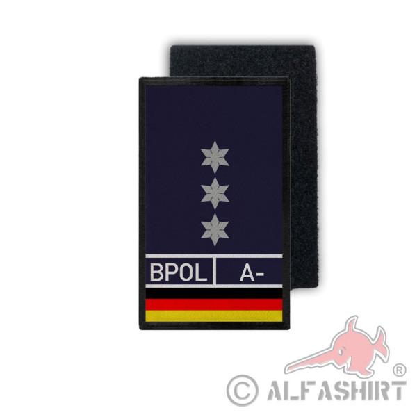 Polizeihauptkommissar Bundespolizei Dienstpatch PHK PHKin Stern Blood Rang#35427