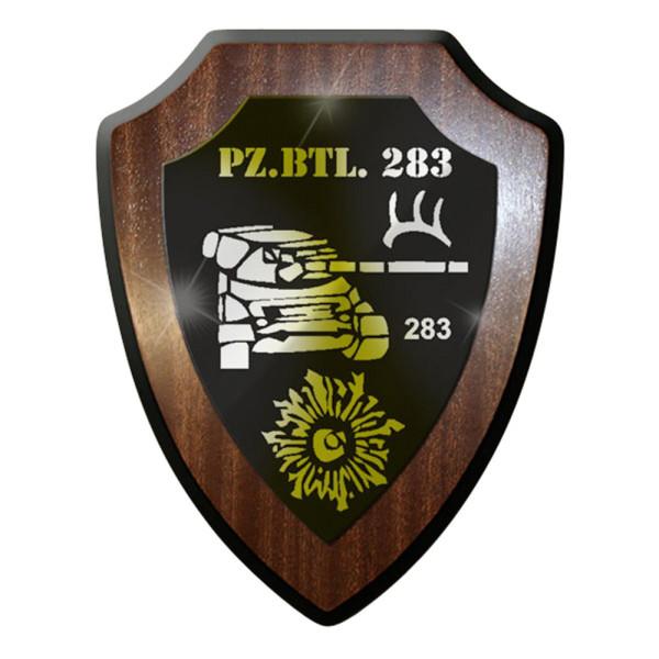 Wappenschild / Wandschild / Wappen - PzBtl 283 Panzer Bataillon 283 Truppe #6998