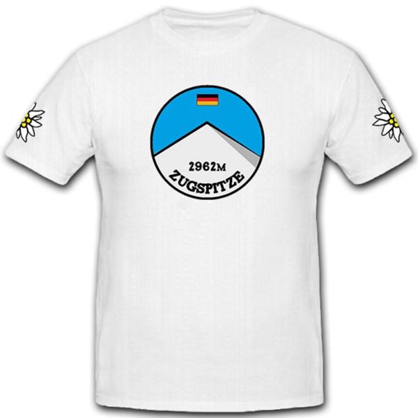 Zugspitze höchste Berggipfel Deutschlands Wettersteingebirges - T Shirt #11139