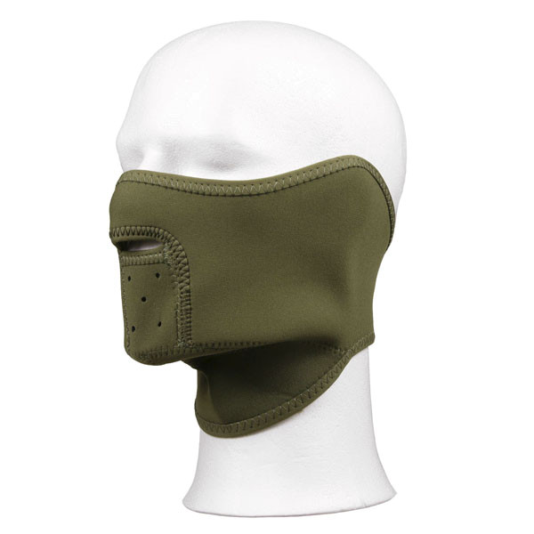 Tactical Neoprene Olive Face Mask Winter Commando Balaclava BW Us Army # 16073