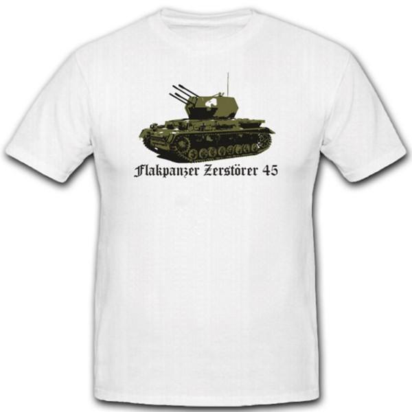 Flakpanzer Vi Zerstörer 45 WH Verteidigung Flugabwehr T Shirt #1890