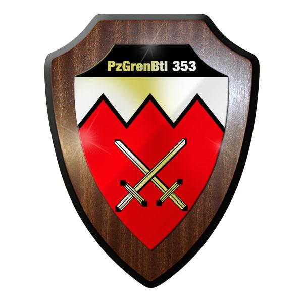 Wappenschild - Panzergrenadier Bataillon 353 PzGrenBtl Bundeswehr #8987