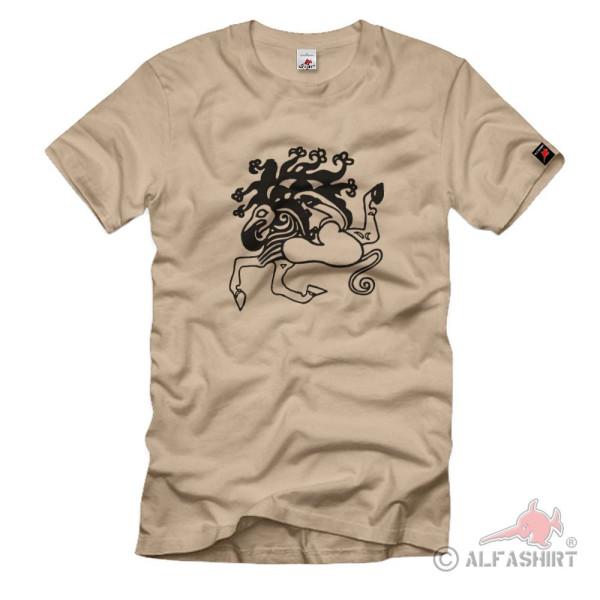 Wikinger Tätowierung Skytischer Tierstil Reiernomadenvölker Saken T Shirt #1228