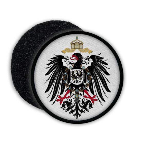 Patch Aufnäher Adler Deutschland Deutsches Kaiserreich Germany Abzeichen #20436