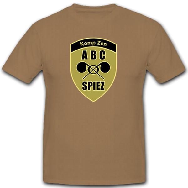 Kompetenzzentrum ABC KAMIR Schweizer Armee Atom Bio Chemie Awehr - T Shirt #10377