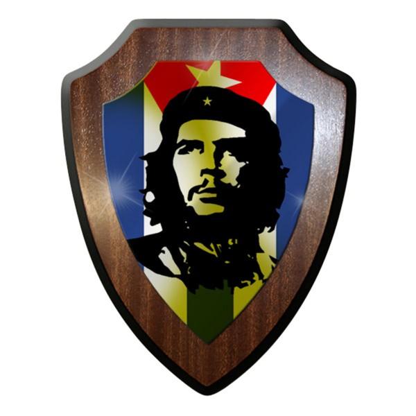 Wappenschild / Wandschild - Ernesto Rafael Guevara de la Serna, genannt #6904