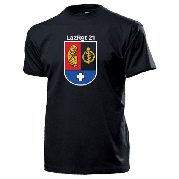 LazRgt 21 Lazarettregiment Rennerod Sanitäter Bundeswehr - T Shirt #13309