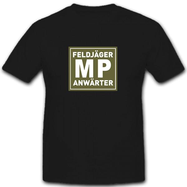MP Feldjäger Anwärter Militär Polizei Bundeswehr Bund Bw - T Shirt #10240