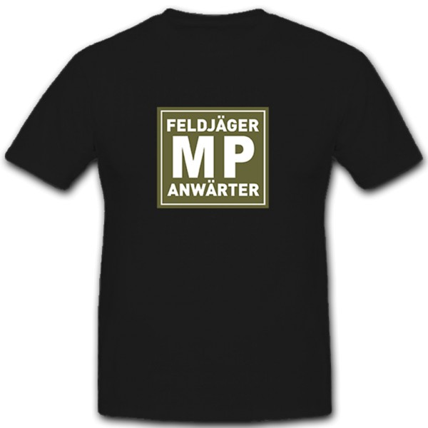 MP Feldjäger contender military police Bundeswehr Bund Bw - T Shirt # 10240