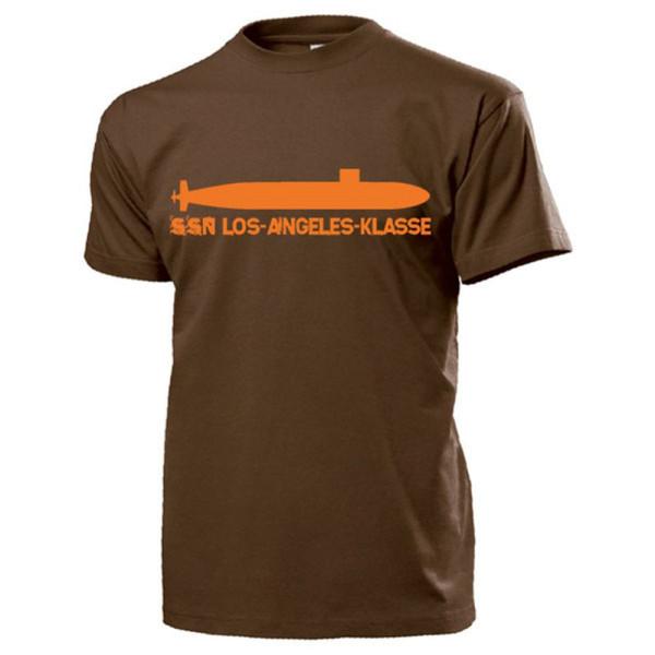 SSN Los Angeles Klasse Nuklear angetriebenes Jagd U-Boot - T Shirt #13196