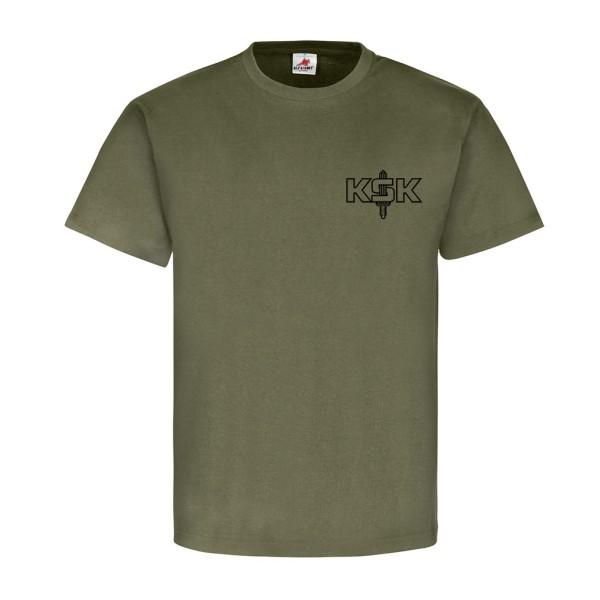 """KSK """" WIR MACHEN HAUSBESUCHE """" Kommando Spezialkräfte Bundeswehr T Shirt #14072"""