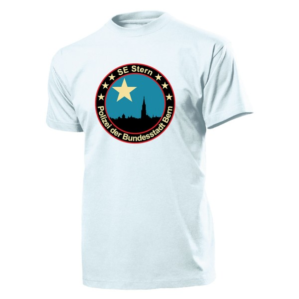 SE Stern Polizei der Bundesstadt Bern Schweiz SEK Sonder Einsatz- T Shirt #10267