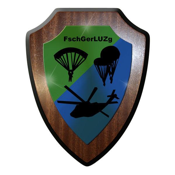 Wappenschild - FschGerLUZg Fallschirmjäger Geräte Luft Umschlag Zug #11664
