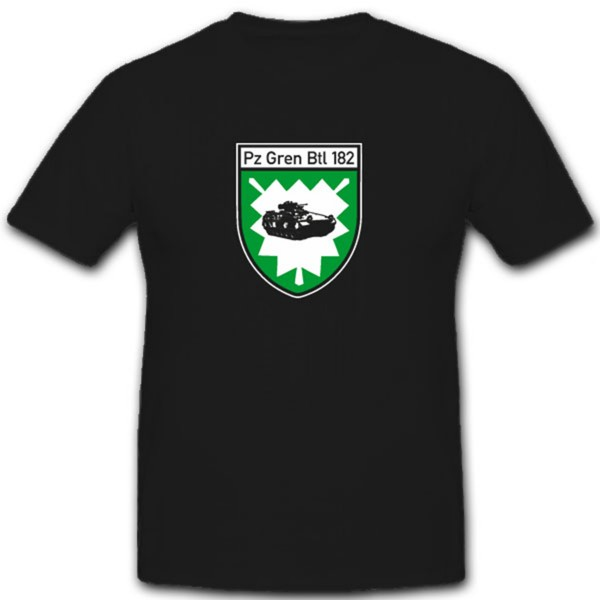 PzGrenBtl 182 Bundeswehr Bad Segberg- T Shirt #7563