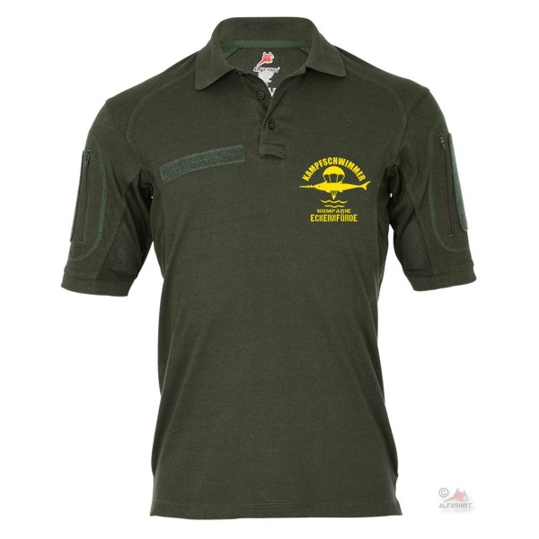 Tactical Poloshirt Alfa - Kampfschwimmer Kompanie Eckernförde BW Marine #18992