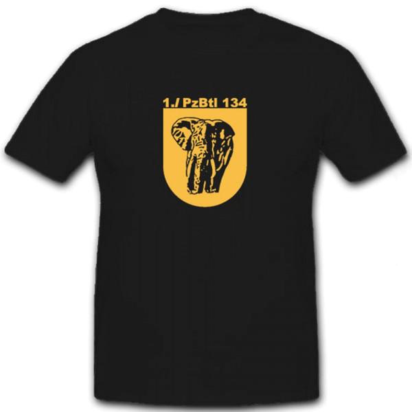 1 PzBtl 134 Bundeswehr Panzer Einheit Wappen Abzeichen - T Shirt #6602