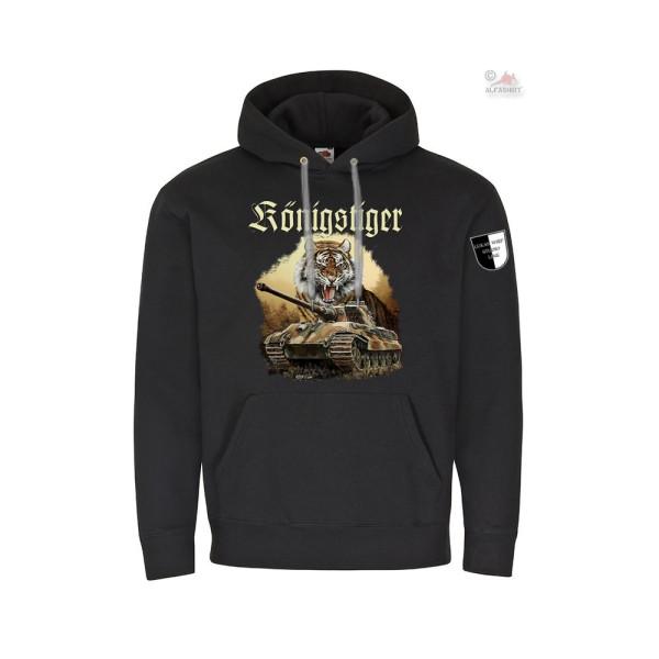 Hoodie Lukas Wirp Tiger II King Tiger Tank Köti Art Print Sweater # 36341