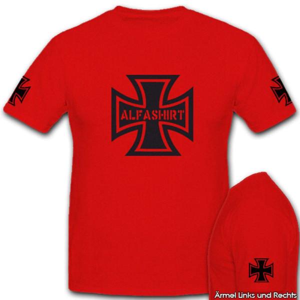 Alfashirt EK Preußen Hoheitsabzeichen - T Shirt #4567