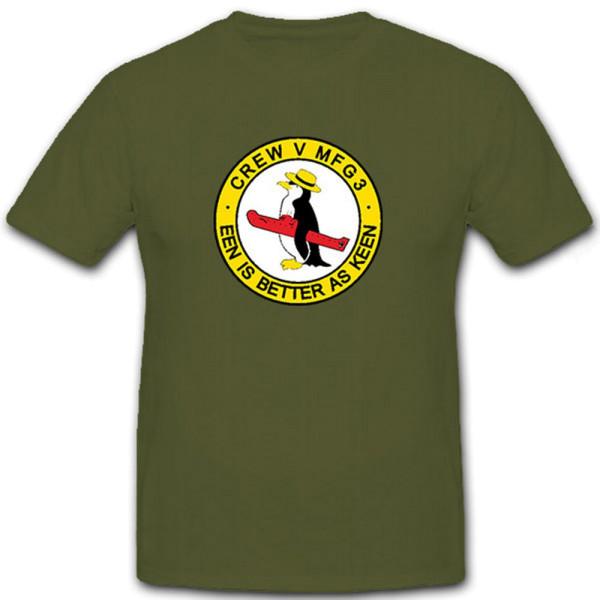 MFG 3 Crew V EEn is better as keen - T Shirt #6787