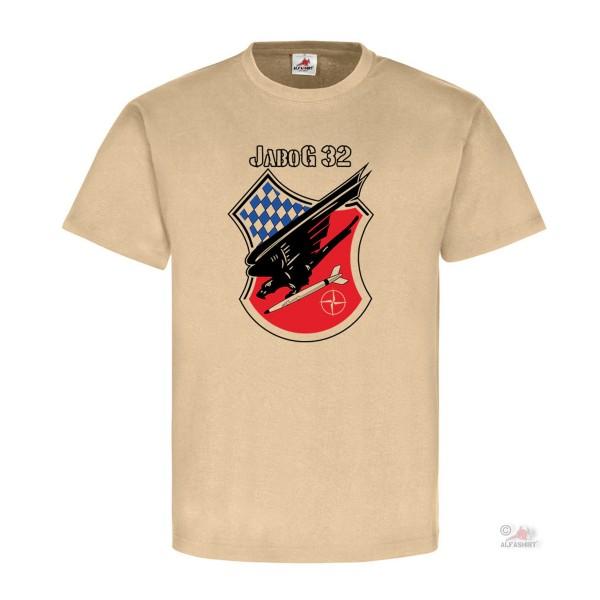 Jagdbombergeschwader 32 JaboG Coat of Arms Lagerlechfeld Airfield - T Shirt # 18193