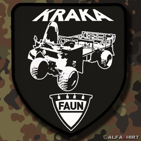 Patch / Aufnäher - Kraftkarren Fahrzeug Militär KRAKA Bund Bw #12252