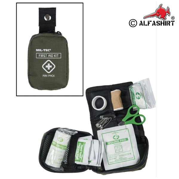 Tactical First Aid Pack First Aid Medic Medic First aid kit olive # 16355