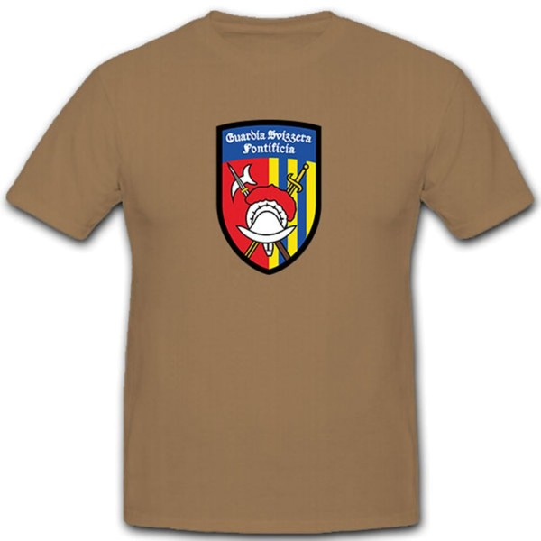 Guardia Svizzera Pontificia (GSP) - Pontifical Swiss Sacra - T Shirt # 11231