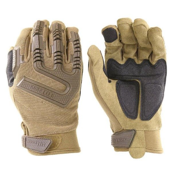 Tactical operational gloves command ISAF Desert BW with protectors sand # 16071