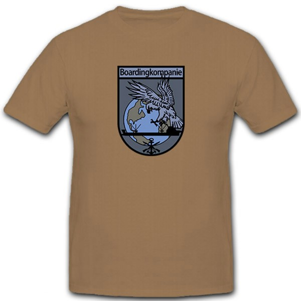 Boarding Company Bundeswehr Marine SEK M Germany Coat of Arms - T Shirt # 12597
