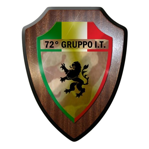 Wappenschild / Wandschild - 72° Gruppo It Wappen Italien Militär Gruppe#7694