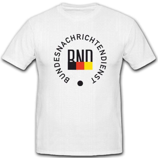 Bundesnachrichtendienst Wappen Abzeichen Logo - T Shirt #5591