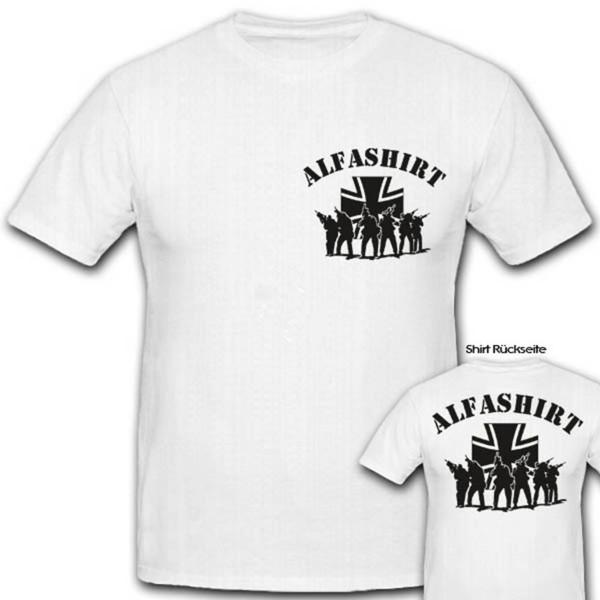 Alfashirt Fan Logo Truppe Team - T Shirt #2768