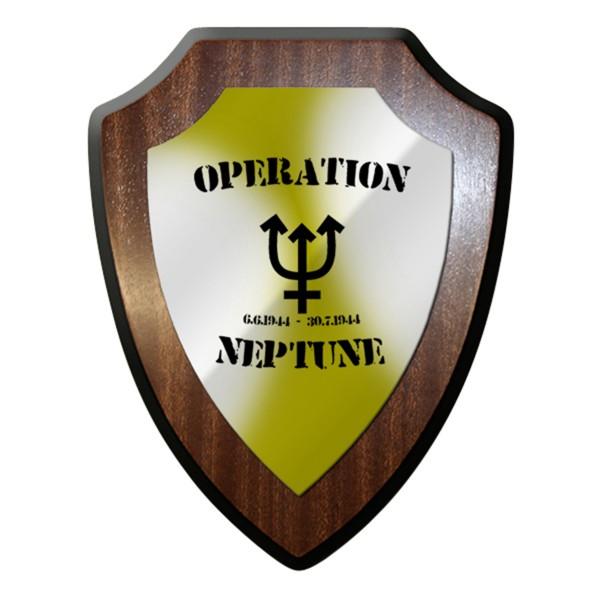 Wappenschild / Wandschild - Operation Neptun D-Day Sturmangriff #12466
