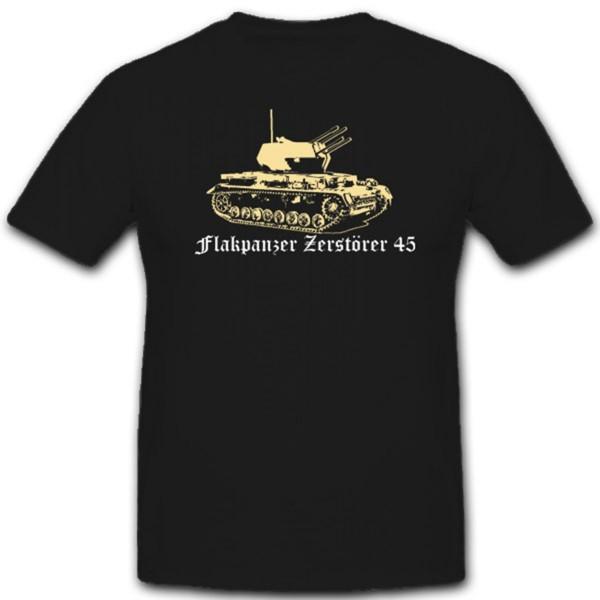 Flakpanzer Vi Zerstörer 45 WH Verteidigung Fahrgestell T Shirt #1889