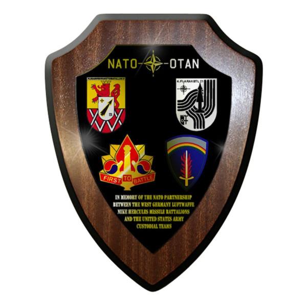 Wappenschild / Wandschild / Wappen -Flarakbtl 21 Usareur Nato Hercules 5th #7791
