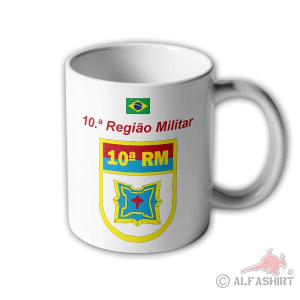 10ª Regiao Militar RM Brazil Martim Soares Moreno Badge Cup # 33398