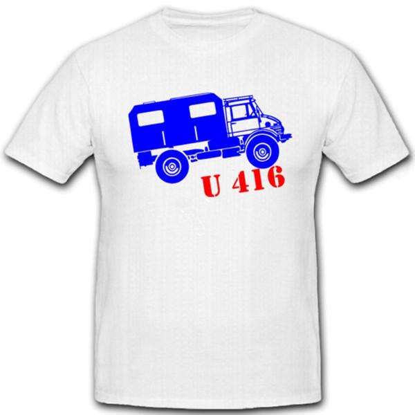 LKW U 416 Universal Motor Gerät Allrad Offroad Koffer Aufbau Shirt T Shirt #7168