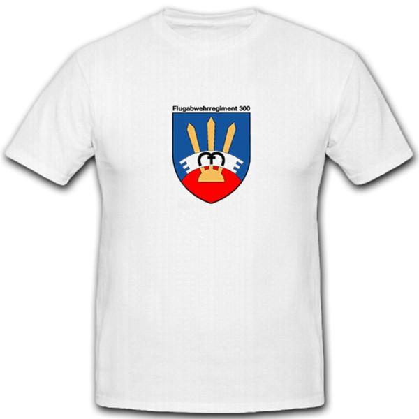 FlaRgt Flugabwehrregiment 300 Wappen Abzeichen Bundeswehr BW - T Shirt #5062