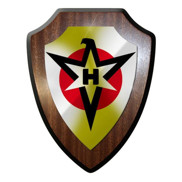 Wappenschild / Wandschild / Wappen - Henschel Logo Flugzeug Werke #8677