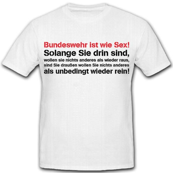 Bundeswehr BW Bund Soldier Fun Fun Humor Instructor AGA - T Shirt # 10676