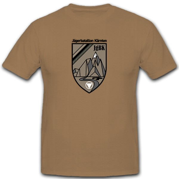 Jägerbataillon Hunter Battalion Carinthia JgBK Bundesheer Austria T Shirt # 11327