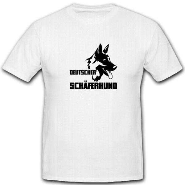 Deutscher Schäferhund Militärischer Spürhund Haustier Treuer - T Shirt #4028