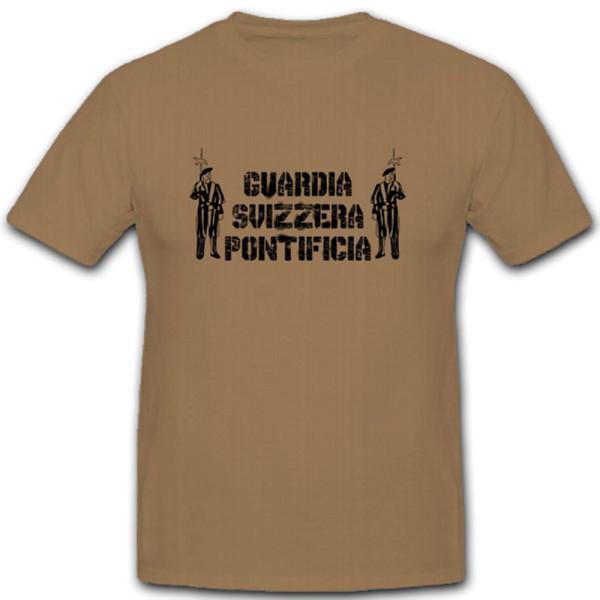 Guardia Svizzera Pontificia Pontifical Swiss Guard - T Shirt # 11230
