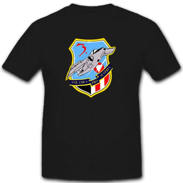 Surveillance Squadron 1 - 3 Staffelpress - Austria Air Force T Shirt # 11128