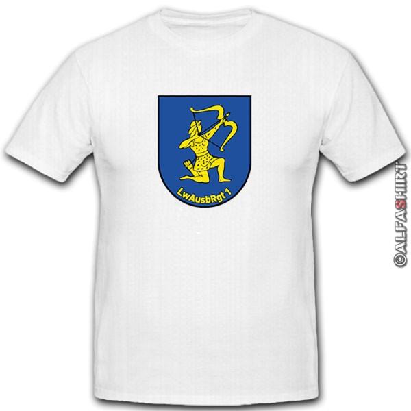 LwAusbRgt 1 - Luftwaffe Training Regiment 1 - Rifleman Bow T-Shirt # 12000