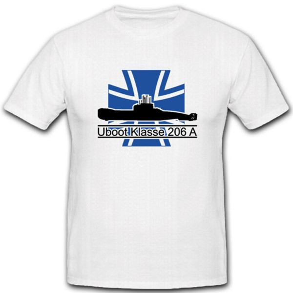 Marine Bundeswehr U Boot Klasse 206a- T Shirt #3765