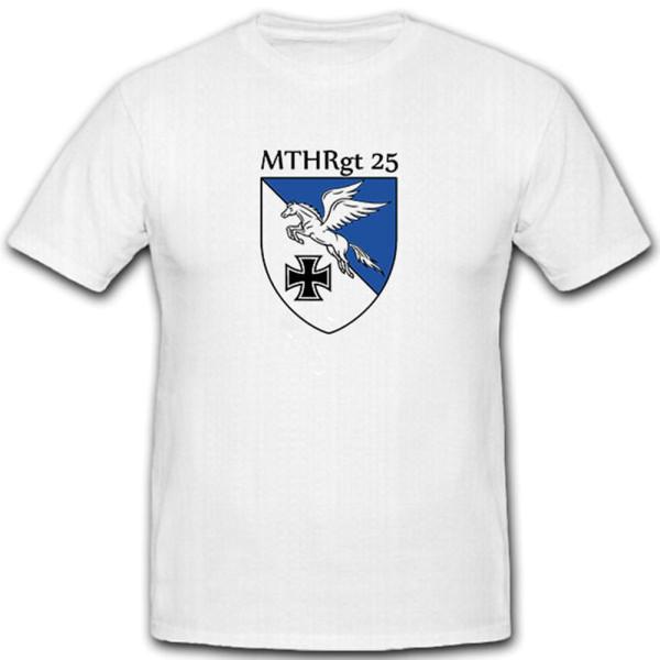 """Mittleres Transporthubschrauberregiment 25 """"Oberschwaben""""- T Shirt #6004"""
